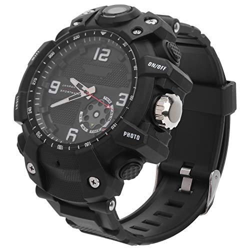 Fybida Smart App 2.6K Sportuhr Hochgeschwindigkeits-WLAN-Verbindung Outdoor-Sportuhr Action-Kamera Uhr für den Sport