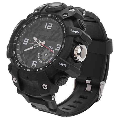 Jeanoko Anticongelante Función 2.6K Sport Watch Smart App Action Camera Watch Sport Watch para al aire libre