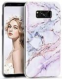 Galaxy S8 Plus Marble Case, Imikoko S8 Plus Case Slim