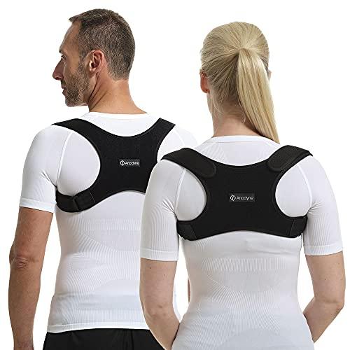 ActivePosture® - Corrector de postura para hombres y mujeres | Apoyo de espalda, hombro y cuello con correa ajustable para el hombro | Soporte de espalda superior para aliviar el dolor