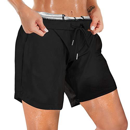 Rolewpy Sauna Sweat Shorts Damen Lounge...