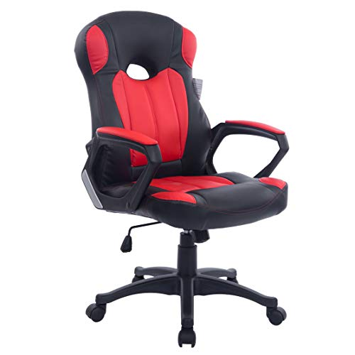 Cherry Tree Racing Gaming Style PU Leather Swivel Chair