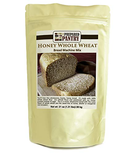 The Prepared Pantry Honey Whole Wheat Bread Mix; Single Pack; For Bread Machine or Oven