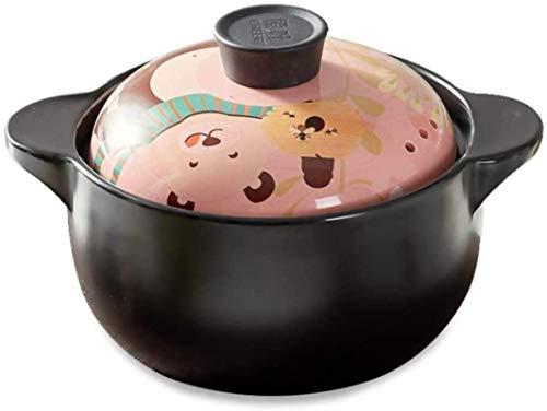 XY-M Casserole Sound Pot Stef Pot Casserole Caserole - Textura de Densidad Lisa esmaltada climatizada uniformemente-A