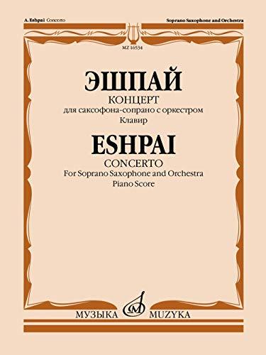 Concerto for soprano-saxophone and orchestra. Piano score (Musiknoten)