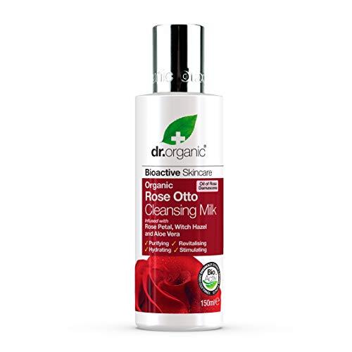 Dr. Organic Lait Nettoyant à la Rose Bio 150 ml