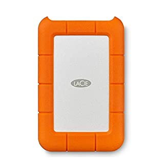 LaCie Rugged USB-C, Unità Disco Esterna Portatile da 4 TB, USB-C, Unità Shuttle Resistente a Cadute, per Mac, PC Desktop, Workstation e PC Portatili, Abbonamento 1 Mese Adobe CC (STFR4000800) (B01MSSJ32J) | Amazon price tracker / tracking, Amazon price history charts, Amazon price watches, Amazon price drop alerts