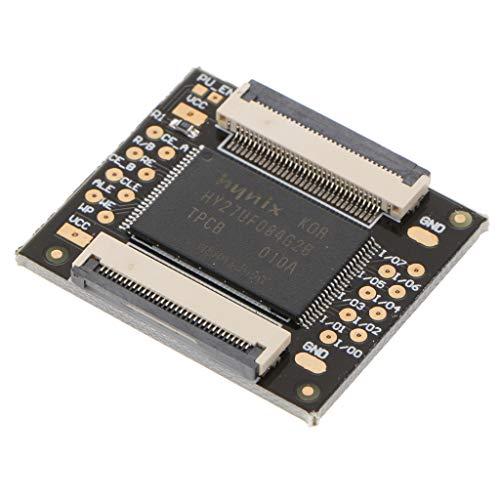 Pieza de Repuesto Chip 512 MB Dual Nand Squirt360 PCB Secundaria para...