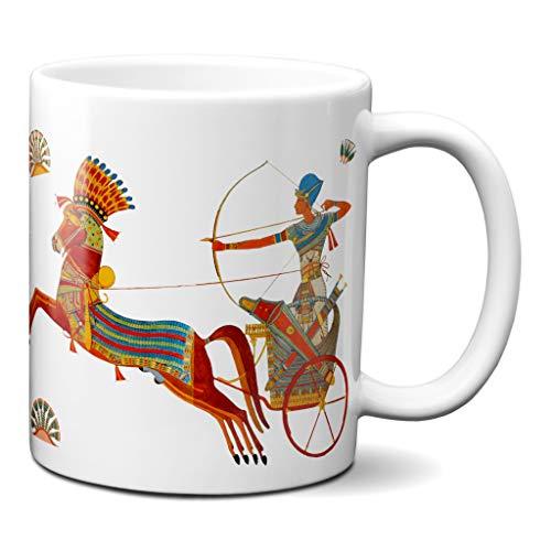Planetacase Taza Egipto Carro Egipcio Ceramica 330 mL