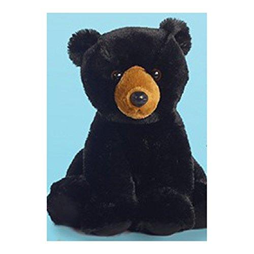 """Aurora World 14"""" Black Bear Plush"""