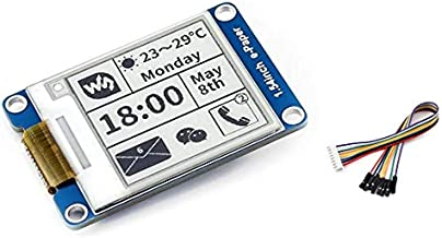 200x200 Resolution 1.54inch E-Ink Display Module Electronic E-paper Sreen with Embedded Controller SPI Interface Support Partial Refresh for Raspberry Pi/Arduino/Nucleo