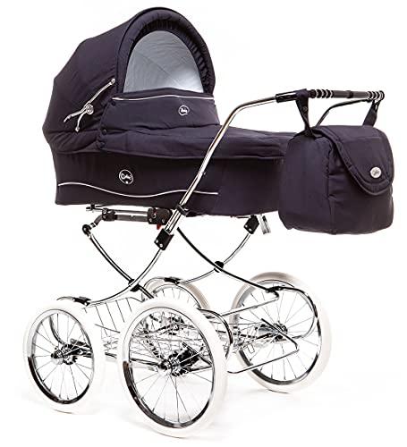 Arrue Seggiolini da passeggino per auto, modello Elegance, (telaio, navicella, amaca, tettuccio e copripiedi), unisex
