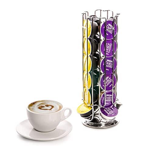 24 cápsulas de café Dolce Gusto de la torre de giratoria