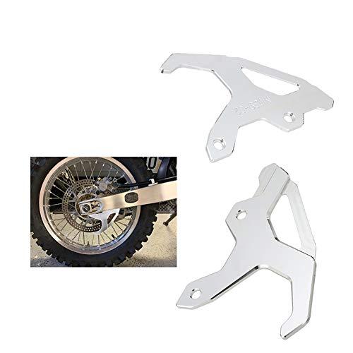 LYYAN Bueno Protector de Disco de Freno Trasero de Motocicleta Aleación de Aluminio 6063-T6 Fuerte y Robusto Adecuado para CR125R / 250R CRF250R CRF450R RF450RX CRF250X CRF450X 1 Articulo Calidad