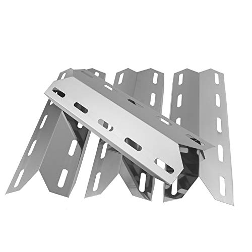 WELL GRILL Heizplatte, 44 cm, für Charmglow 720-0234, 720-0289, Nexgrill 720-0033, 720-0335, Perfect Flame, Perfect Glo Gasgrill-Modell, Edelstahl Hitzeschild Zelt-Reparaturteile