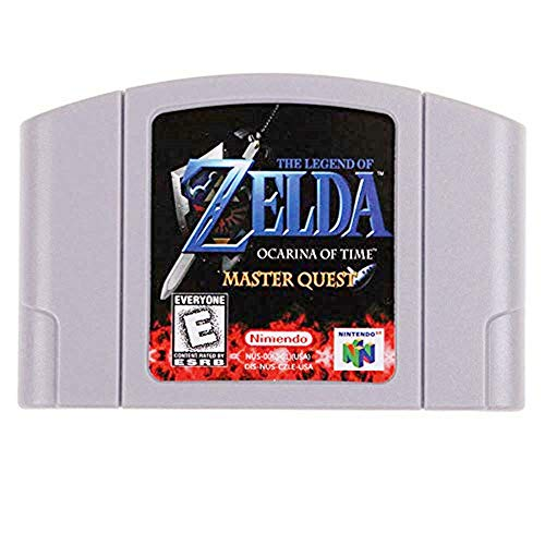 New The Legend of Zelda Ocarina of Time - Master Quest Video Game Cartridge US Version For Nintendo 64 N64 Game Console