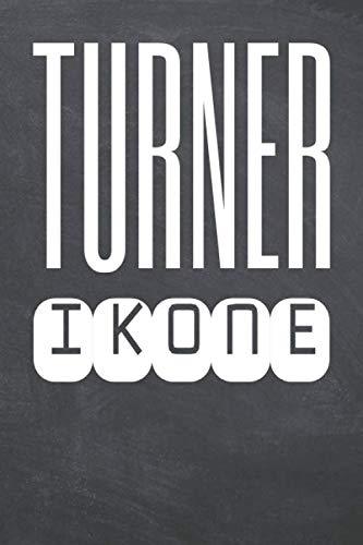 Turner Ikone: Turner Punktraster Notizbuch, Notizheft oder Schreibheft - 110 Seiten - Büro Equipment & Zubehör - Lustiges Geschenk zu Weihnachten oder Geburtstag