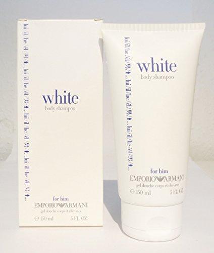 ARMANI EMPORIO WHITE BODY SHAMPOO FOR HIM 150 ML