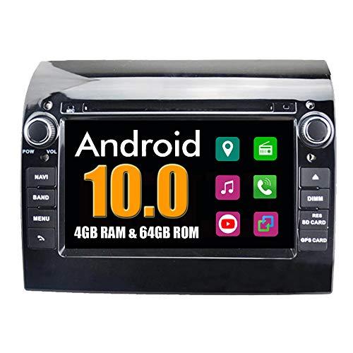 RoverOne Autoradio per Fiat Ducato per Citroen Jumper per Peugeot Boxer con Multimedia DVD Stereo GPS Navigation Radio Bluetooth