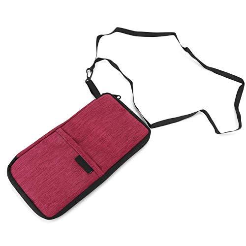 Omabeta Bolsa portadocumentos portadocumentos para guardar billetes de avión, pasaporte y otros objetos, adecuada para uso en exteriores.