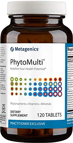 Metagenics - PhytoMulti® Without Iron – Multivitamin Supplement (120 Tablets)