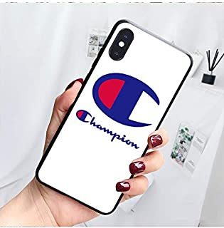 Tempered Glass Back Hard Case for iPhone XR, Fashion Designed Shockproof Cover Case, White