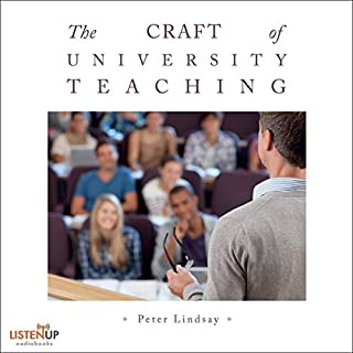 The Craft of University Teaching cover art