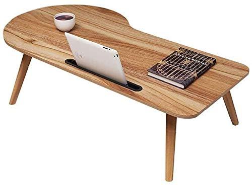 RH-HPC Mesa plegable para ordenador portátil, 90 x 38 x 34 cm, con mesa de estudio, simple escritorio plegable