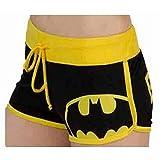 Short Taille Haute Femme été Mode Dessin animé Batman Sexy Plus Size Short en...