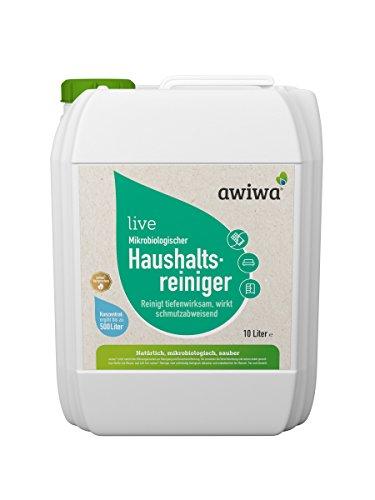 awiwa Haushaltsreiniger Bodenreiniger & Allzweckreiniger für Küche & Haushalt 10 Liter