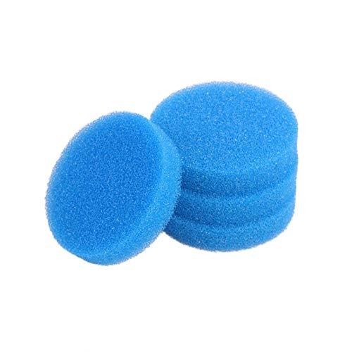 lifebea Filtro Profesional Acuario Compatible Pads Filtro Azul Gruesa de Espuma for Eheim Classic 250 2213 (Size : Pack of 6)