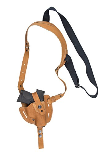 XCH Shoulder Holster, Compatible with Sig Sauer P938 / P238, M&P Compact, M&P Shield, Springfield 911, Glock Slimline Series: -36, -43, -42, Colt Defender, Beretta Cheetah
