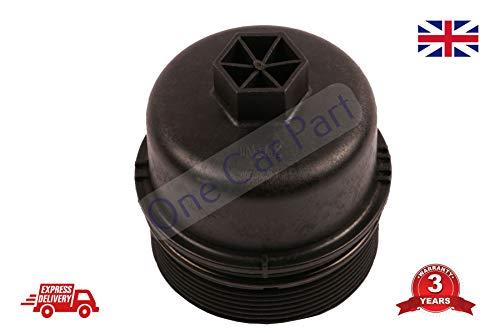 Ölfilter Gehäusedeckel für Fiat 500 DOBLO PUNTO ALBEA 1.3