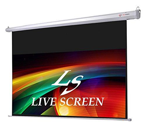 LIVE SCREEN 16:9 150インチ ロングタイプ 電動格納 プロジェクタースクリーン