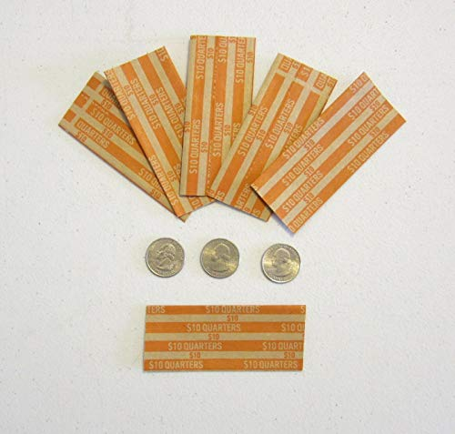 AirGarden – 300 Coin Wrappers for Quarters Quarter Wrapper