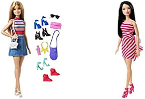 Barbie Doll , Multi Color