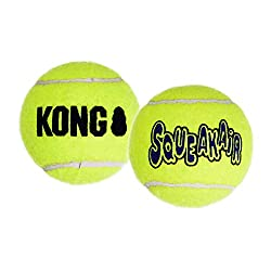 Kong Air Dog Squeakair Tennis Balls.