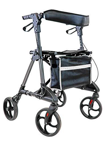 FabaCare Leichtgewichtrollator Omni, Rollator faltbar, mit Vollausstattung