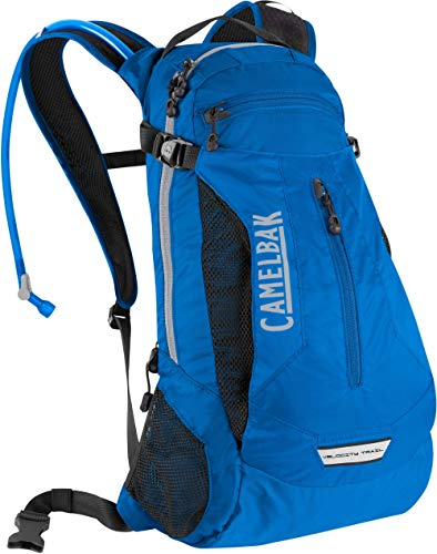 CamelBak Velocity Trail 100 oz. Lightweight Hydration Pack Backpack w/Crux Reservoir, Blue, BPA Free