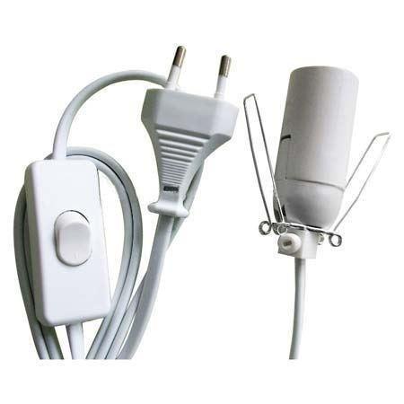 Cable + Bombilla Lámpara de Sal