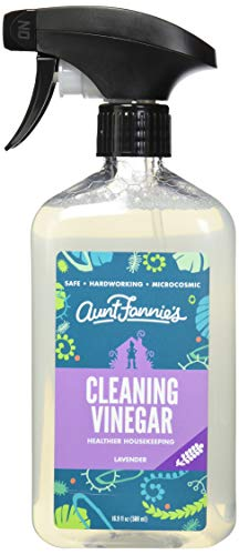 Aunt Fannie's All Purpose Cleaning Vinegar - Multi-Purpose Surface Spray Cleaner - 16.9 FL OZ - Lavender