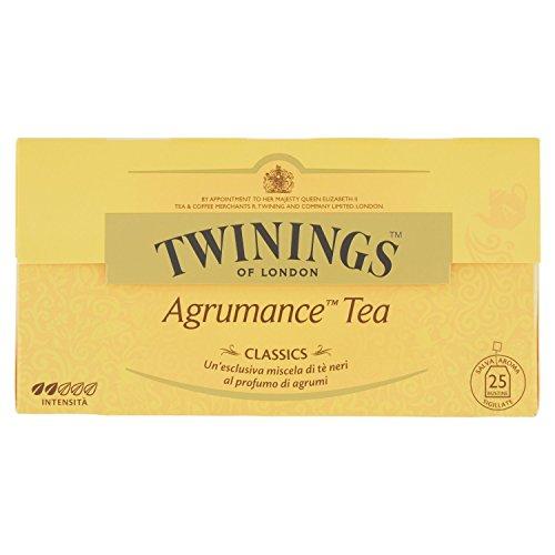 Twining Tè Classic Agrumance - 25 Filtri [50 gr] - [confezione da 3]