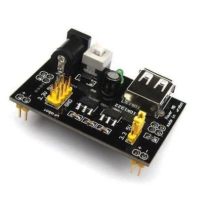 Alimentatore stabilizzato per breadboard 5V 3,3V (arduino-compatibile) usb power supply 8338