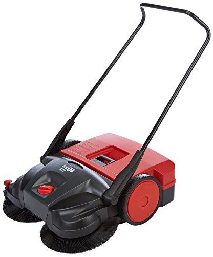 Haaga Kehrmaschine 477 Profi (Handkehrmaschine für gewerblichen Bereich, egal ob nass, trocken oder grober Schmutz, geeignet ab ca. 1.000 m²) 101033