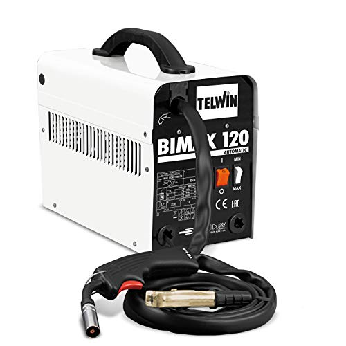 TELWIN 821077 BIMAX 120 AUTOMATIC Saldatrice a Filo Flux No Gas