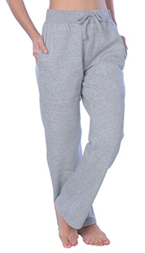 Woman Drawstring Pocket Sweatpants Available in Plus Size LFPO_Y21 Solid Heather Gray 1X
