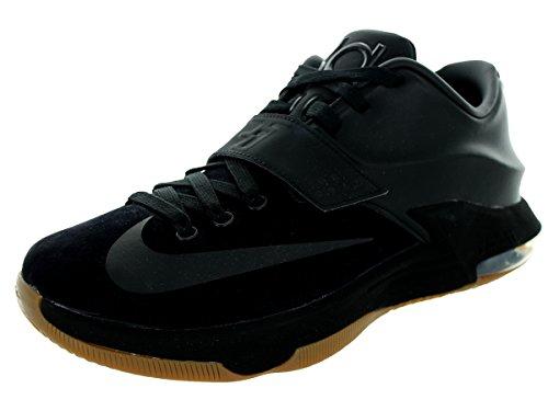 Nike KD VII Ext Scamosciata QS Nero/Nero Scarpa da Basket 9.5 Us