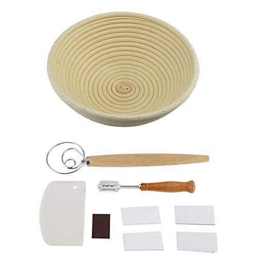 Bread Proofing Basket 9 Inch, Bread Banneton Proofing Basket for Dough Rising Baking Dough...