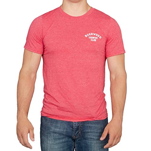 Ripple Junction Caddyshack Bushwood Country Club Heather Red T-Shirt (Adult X-Large)
