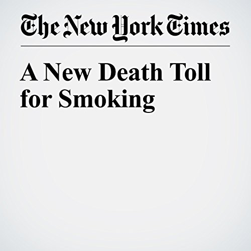 A New Death Toll for Smoking cover art